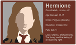 Dating Fictions - Hermione by TheNYRD