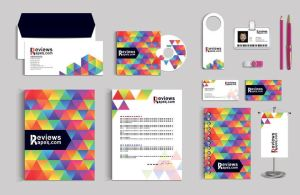 Stationery Graphic Design Vectors