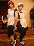 Rin and Nitori maids! by ZoeyJayne