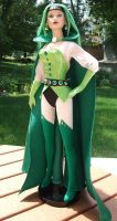Emerald Empress full body shot front view by BabyDollLJ