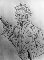 Two face sketch by DiegoE05