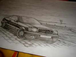 Mercedes-Benz 560 SEC by Renet555
