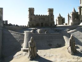 Sand castle 3 by WALKING-GIRL