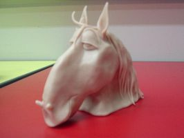 Sculpy Horse Head by Lanmana