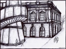 Architecture drawing by k0hi