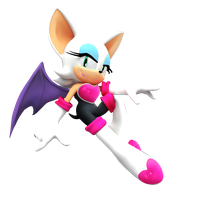 Rouge The Bat New Render by Nibroc-Rock
