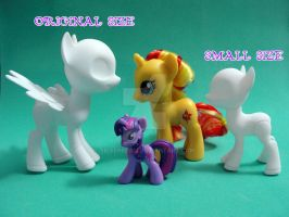 Ball Jointed Pony: New smaller size by silverbeam