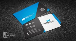 Modern and Professional Business Card Template by mengloong