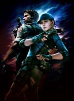 Resident evil 5 _Poster by zxchriszx