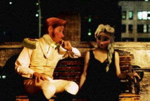 Hans and Elsa - On a Date by Simmeh