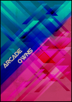 Arcade Owns Poster - Print by Monnario