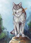 Gray spirit of the northern forest. by Northern-god