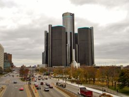 General Motors World Headquarters by EndOfGreatness
