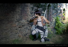 Attack on Titan - Eren Jaeger by TessaCrownster
