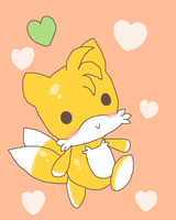 Tails Chao by Oblacii