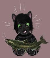 Salmon by Kethavel