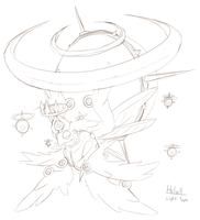 Pokemon BW3 2.0: Helull Sketch by Midnitez-REMIX