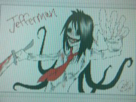 SlendermanxJeff The Killer=Jefferman by RoomsInTheWalls