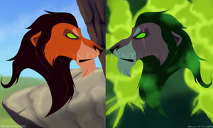 Lion King Series-Scar by TruLion