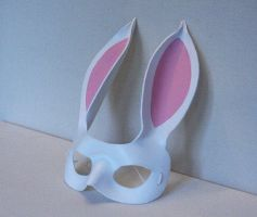 The White Rabbit Mask - Leather Masks by nondecaf