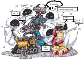 Robot love by PurpleRAGE9205