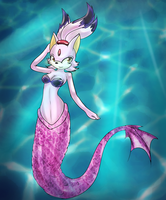 CM: Mermaid Blaze by Mephilez