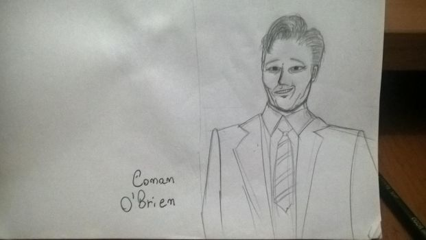 Quick sketch - Conan O' Brien by Rafagafanhotobra