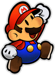 Mario (Modern)- Super Paper Mario 10th by Fawfulthegreat64