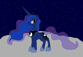 Princess Luna by MochiFries