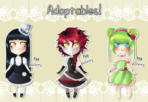 Fancy Dress Adopts - closed by miSsSasoRi