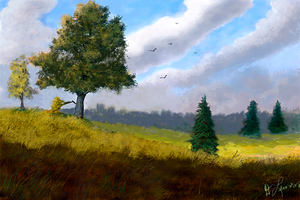 Autumn Landscape by ghost549