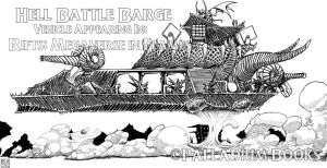 Hell Battle Barge by bar1scorpio