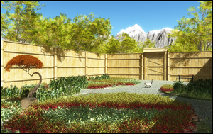 Garden Design 1 -- Touch of Asia by jbjdesigns