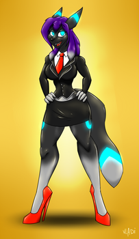 Businesswoman YCH - COMPLETED! by Vladiverse