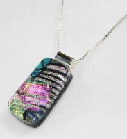 Fused Art Glass Pendant 2 by Create-A-Pendant