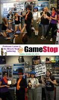PL: Miracle Mask Gathering at GameStop by KatyMerry