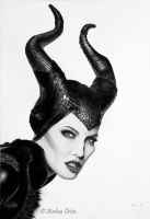 *Maleficent* by AinhoaOrtez