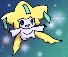 jirachi by Vurquoise