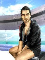 Morning, Shepard. by L2Biotic