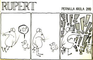 Rupert the rat 2 by pemmi