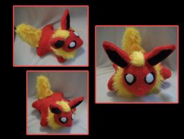 Flareon Pillow Pet by VanguardWingal