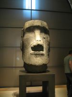 Easter island head by CAStock
