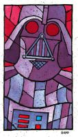 Darth Vader stain by JasonGoad