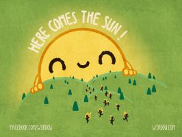 Here Comes the Sun by WirdouDesigns