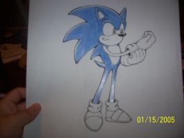 How I color Sonic part 5 by Snivy94