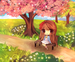 Blossoms by mochatchi