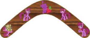 Berry Punch Boomerang by Out-Buck-Pony