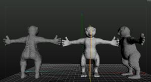 3D Sculpt Game Charactor by audiomad