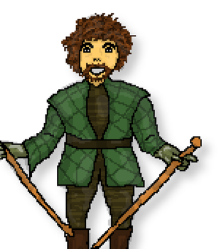 Syrio Forel Pixel Art by onlo