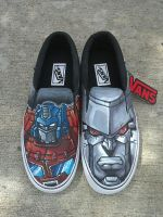 Custom Old School Transformers Shoes by Allizorr